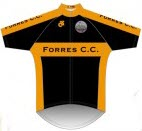 Forres cycling club kit