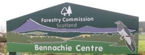 Bennachie family cycling routes