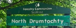 Drumtochty family cycling routes