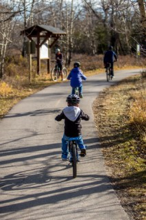 Family cycling routes